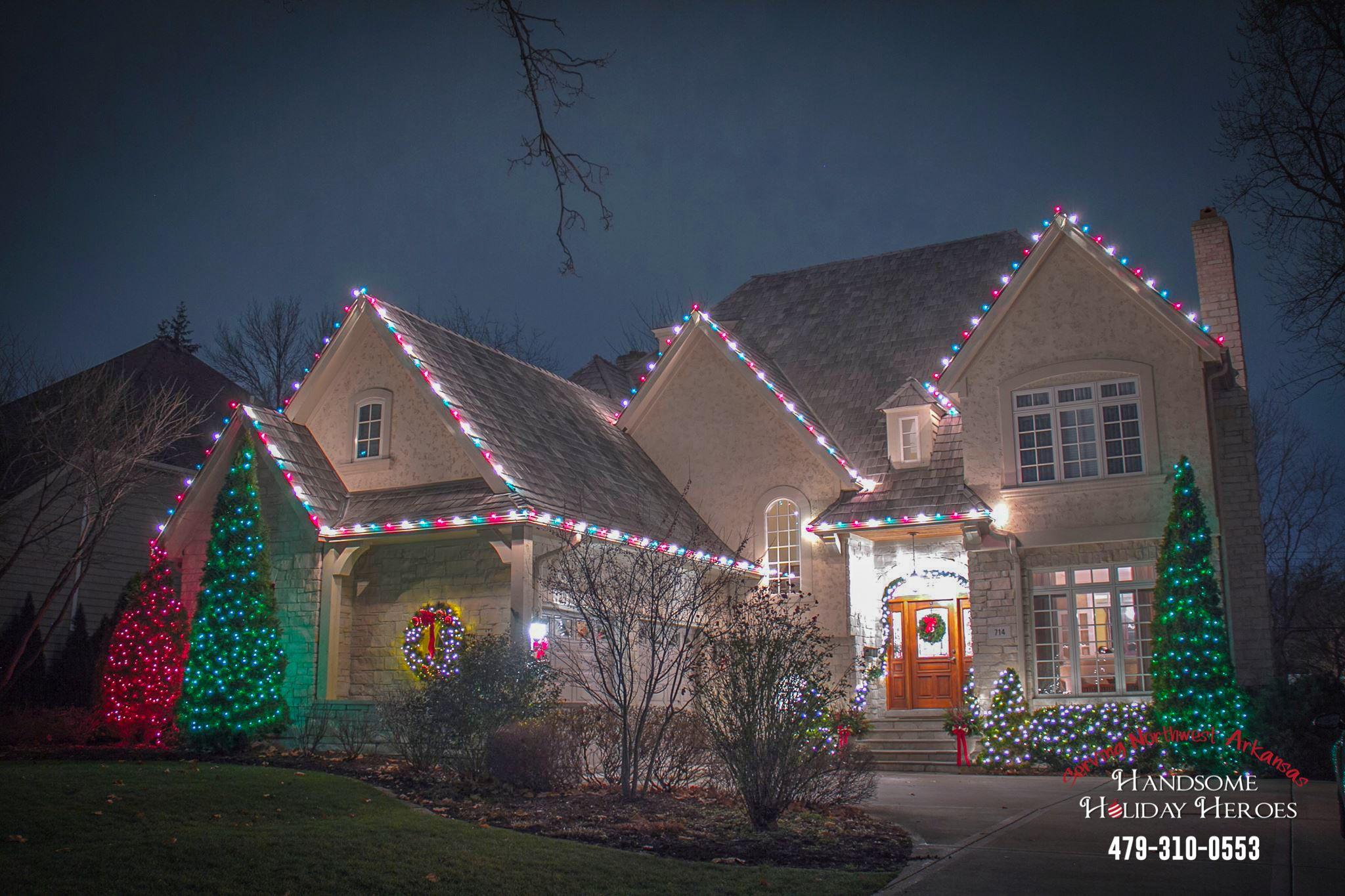 Christmas Light Color Pattern