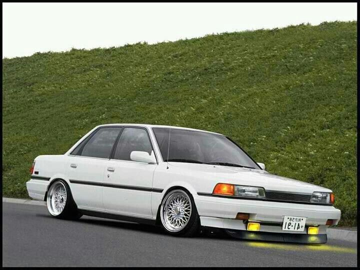 Yeah That S A 91 Camry But It Won T Go That Low Even On Modded Celia Coilovers Toyota Camry Toyota Corolla Camry