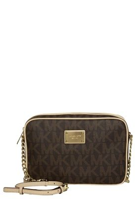 JET SET - Borsa a tracolla - brown. Find this Pin and more on Michael Kors  ... c7c36deea4f