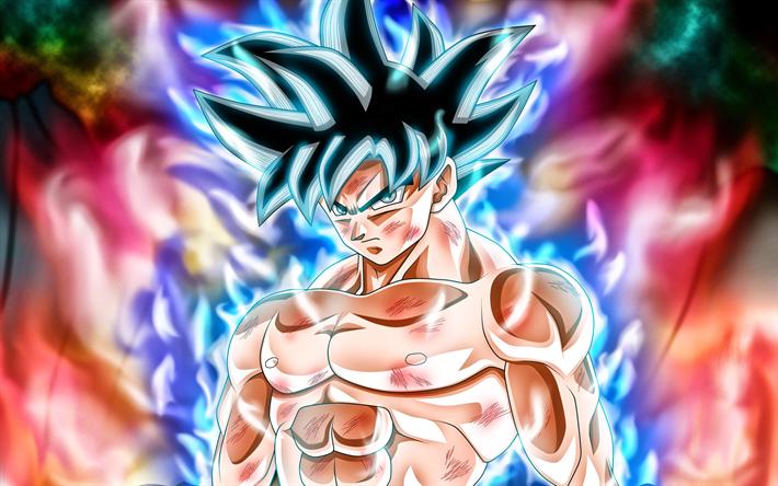 Download wallpapers Black Goku, 4k, DBS, manga, Goku, fire, Dragon Ball Super | Anime Wallpapers ...