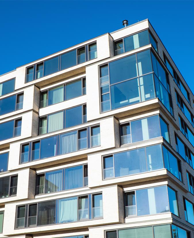 Edificios de viviendas 675 830 fd for Fachadas edificios modernos