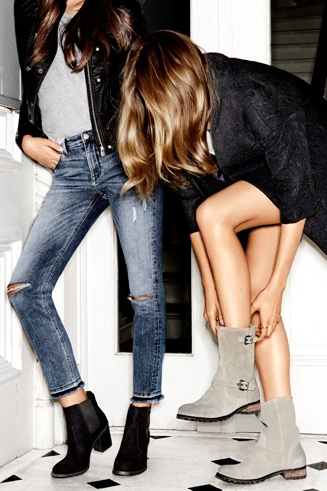 Chunky ankle boots. #HMSHOES