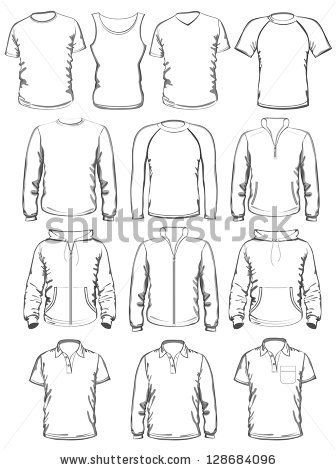 sweatshirt template stock images royalty free images vectors