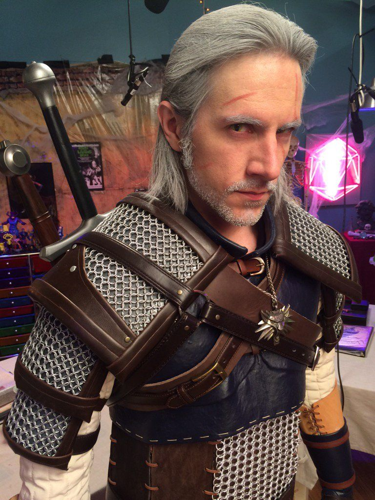 Matthew Mercer As Geralt Of Rivia Critical Role Fan Art