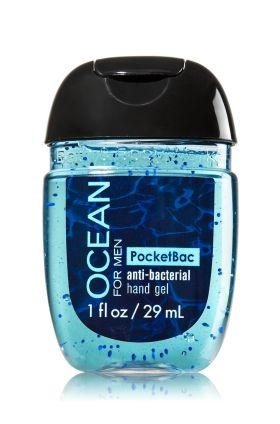 Ocean For Men Pocketbac Sanitizing Hand Gel Bath Body Works
