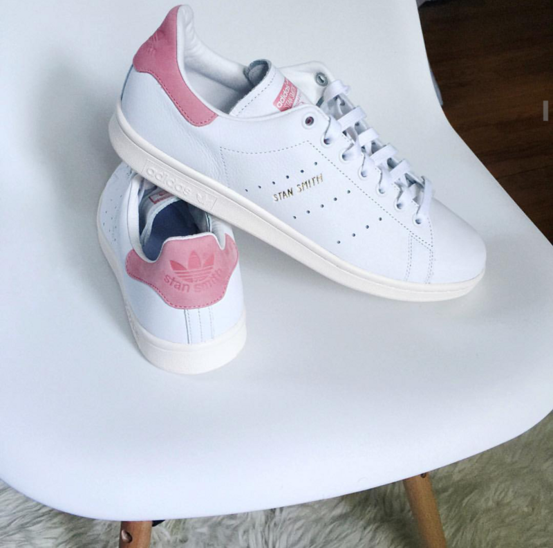 adidas stan smith ray pink