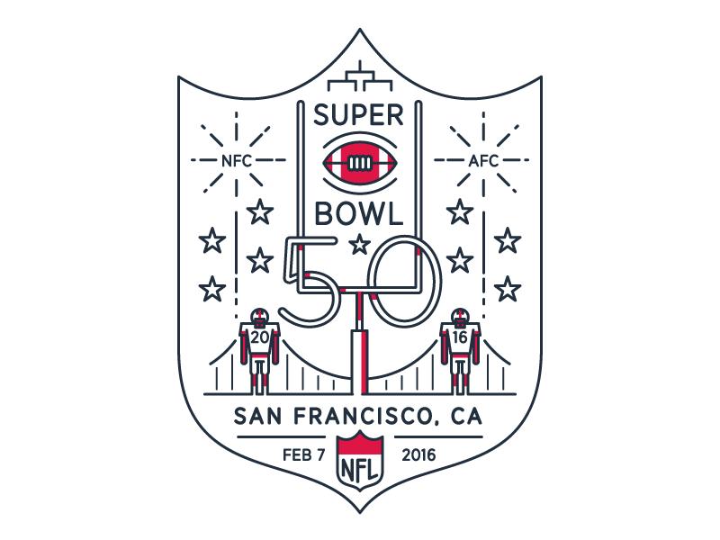 Super Bowl 50 Logos Brand Identity And Symbol Logo