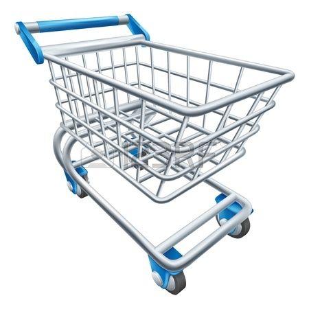 Una Ilustracion De Un Carrito De Supermercado Alambre Cesta De La Compra O Una Cesta Carritos De Supermercado Fotos De Unicornios Kawaii Carrito