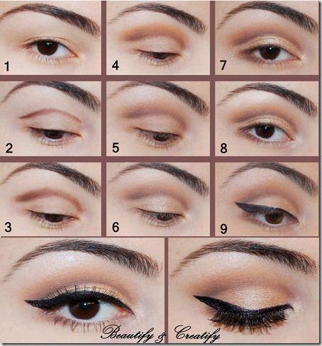Machiaj De Zi Pas Cu Pas 19 Makeup Eye Makeup Pretty Eye Makeup