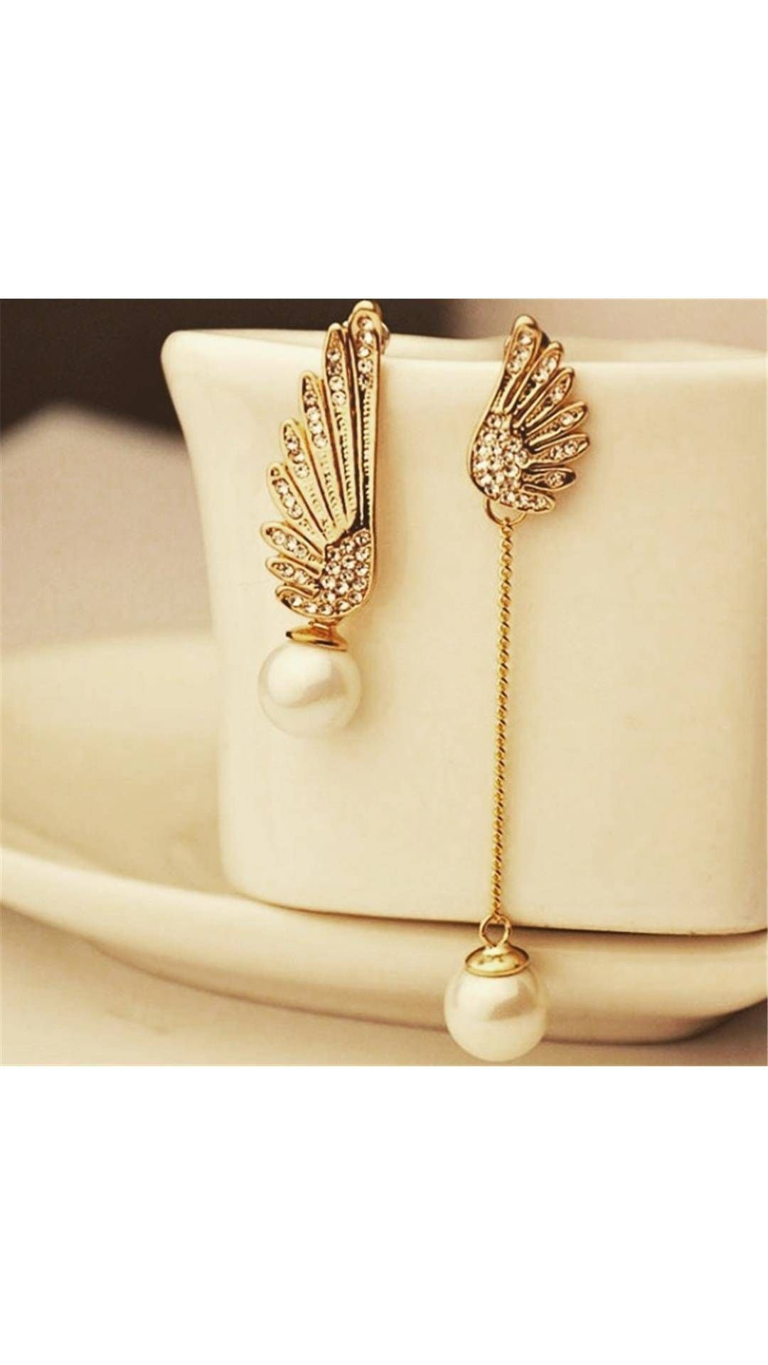 52071314931da Buy Fave Wings Pearl Earring Online at Low Prices in India - Paytm ...