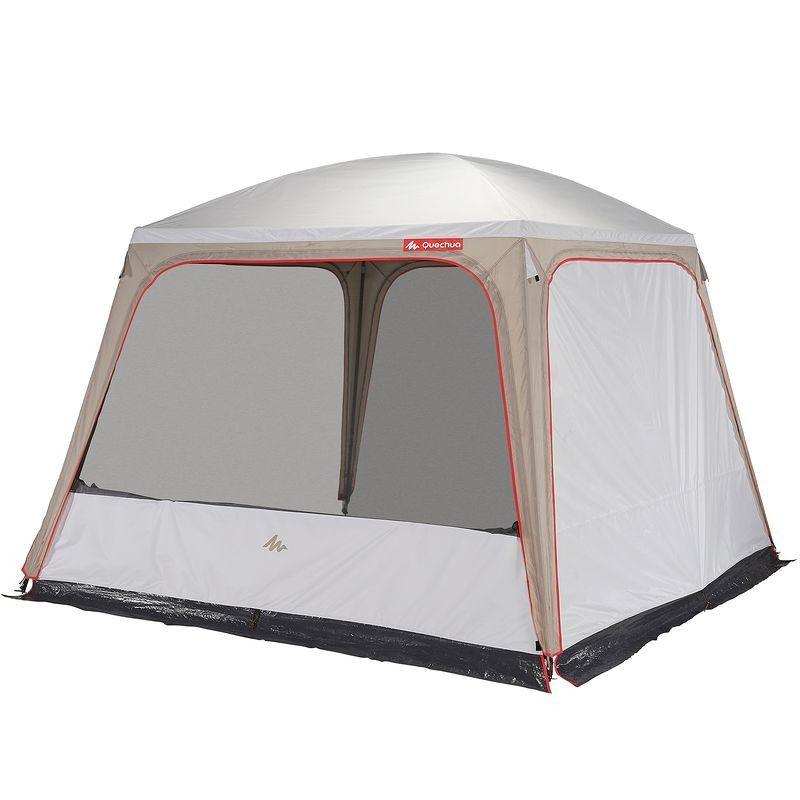 Randonnee Camp Du Randonneur Sejour 3 M X 3 M Fresh Tente Decathlon Decathlon Tente Gonflable
