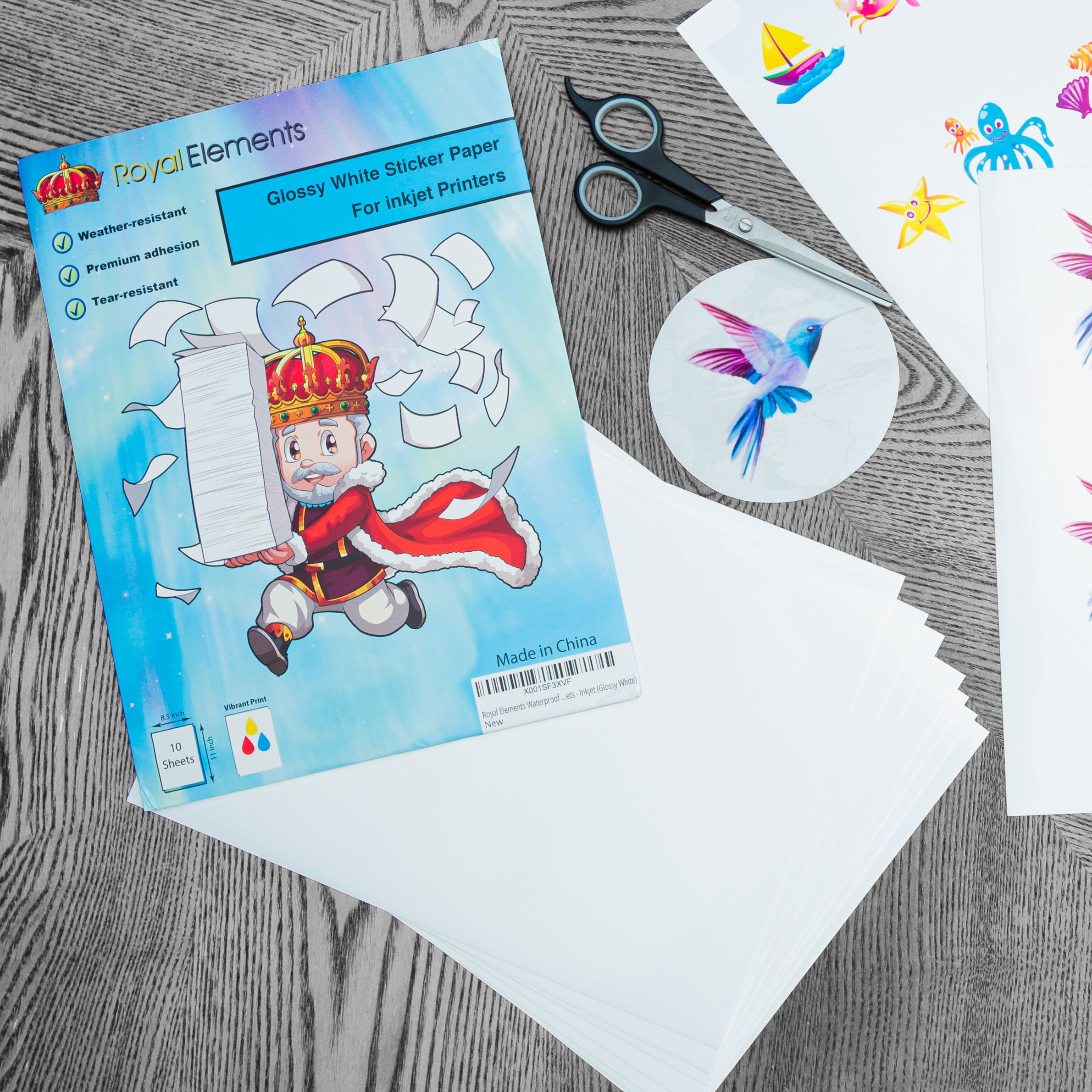 Crafting Is So Much Fun Especially With Royal Elements Visit Our Store Today For Aw In 2020 Vinyl Sticker Paper Waterslide Decal Paper Printable Sticker Paper