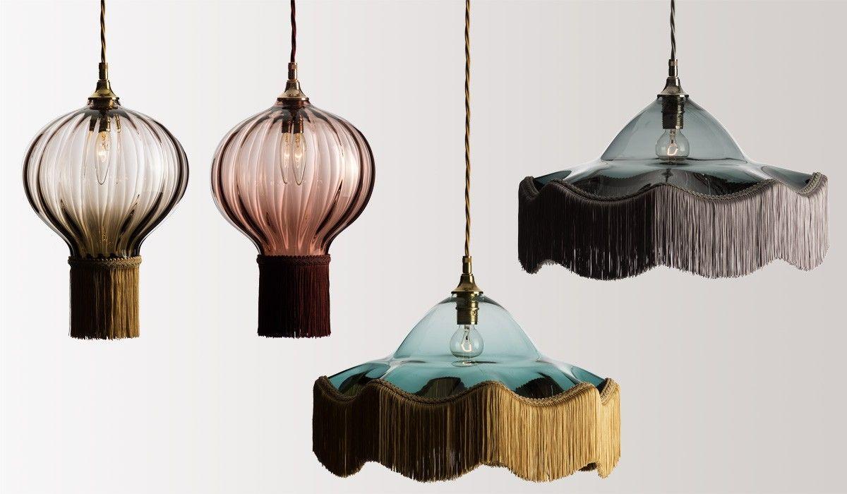 Raum mit lichtern um fringe u tassel  lamps  pinterest