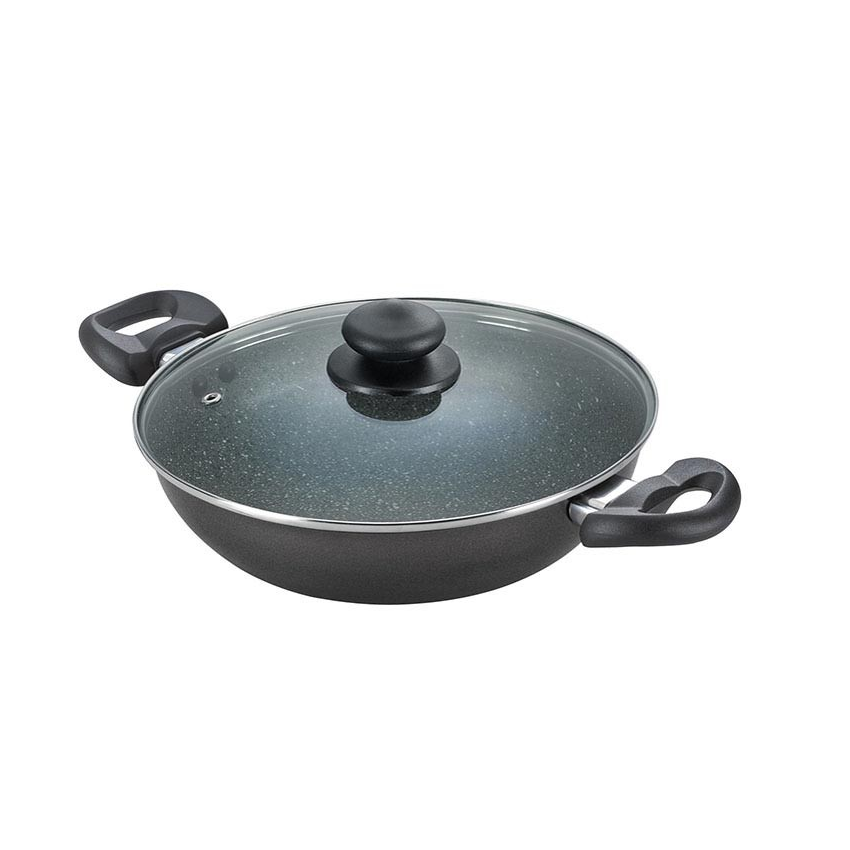 1 Piece Of Prestige Non Stick Kadai 240mm Induction Cooktop Kitchen Cookware Sets Cookware And Bakeware