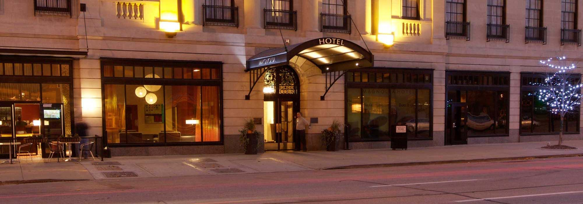 Magnolia Hotel Omaha The Beautiful Finished An Extensive Renovation In September 2007 Transforming Into Jewel Of D