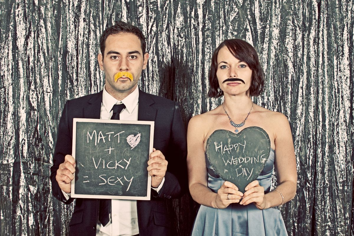 Vintage Wedding Photo Booth For Hire