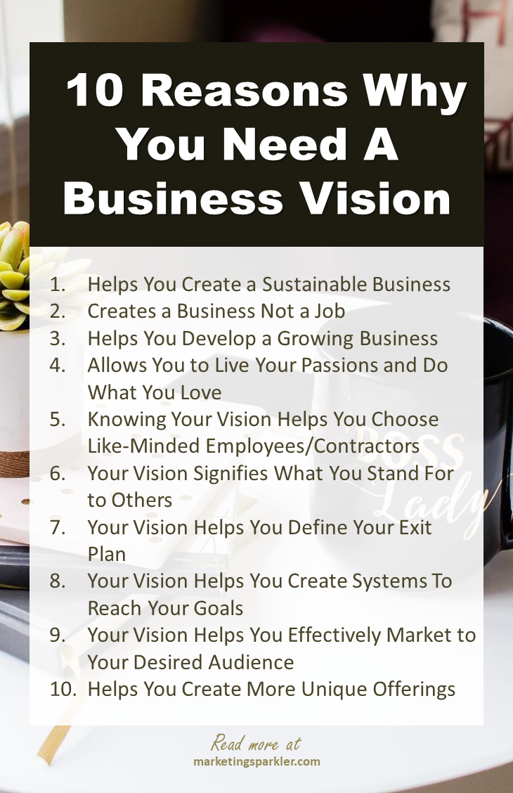 Why You Need A Business Vision For Long Term Success I Online