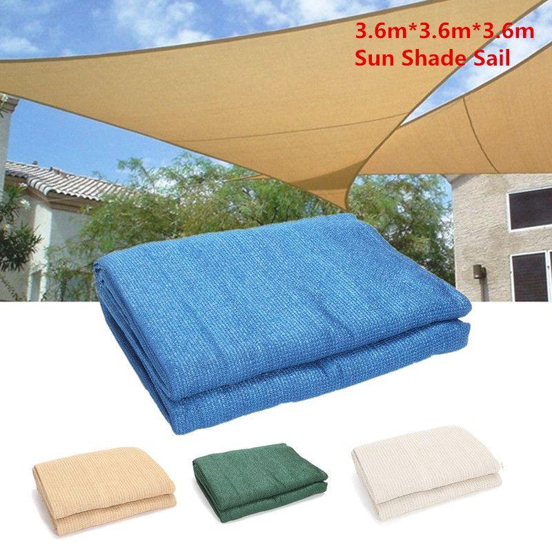 Excellent Quality Triangular Sun Shade Net Combination