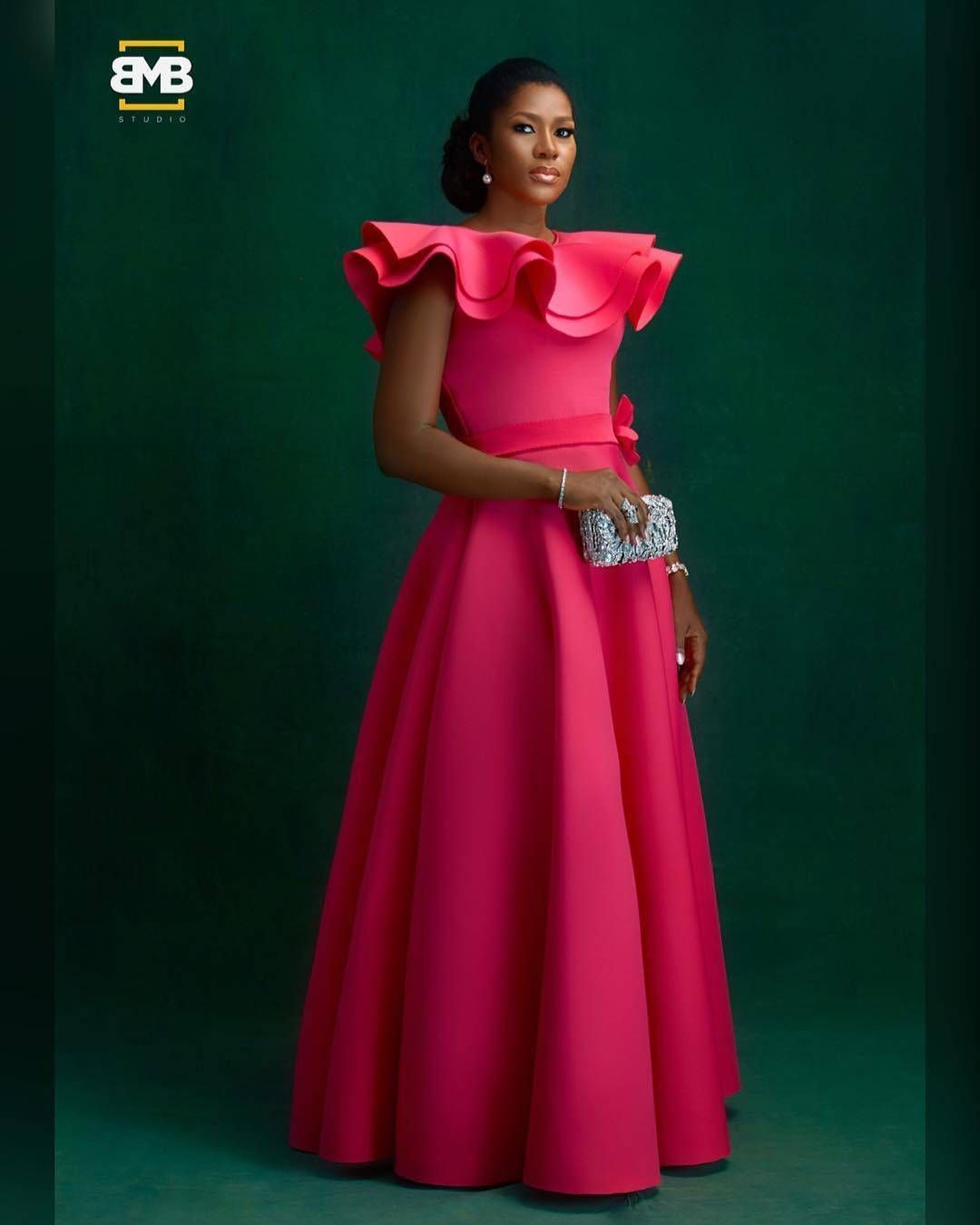 African wedding dresses for guests   Likes  Comments  AsoebiAfrica asoebiafrica on