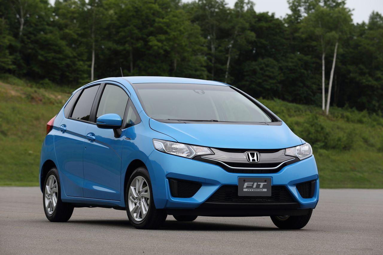 2015 Honda Fit Hybrid Mpg And Price Honda Fit Honda Honda Accord