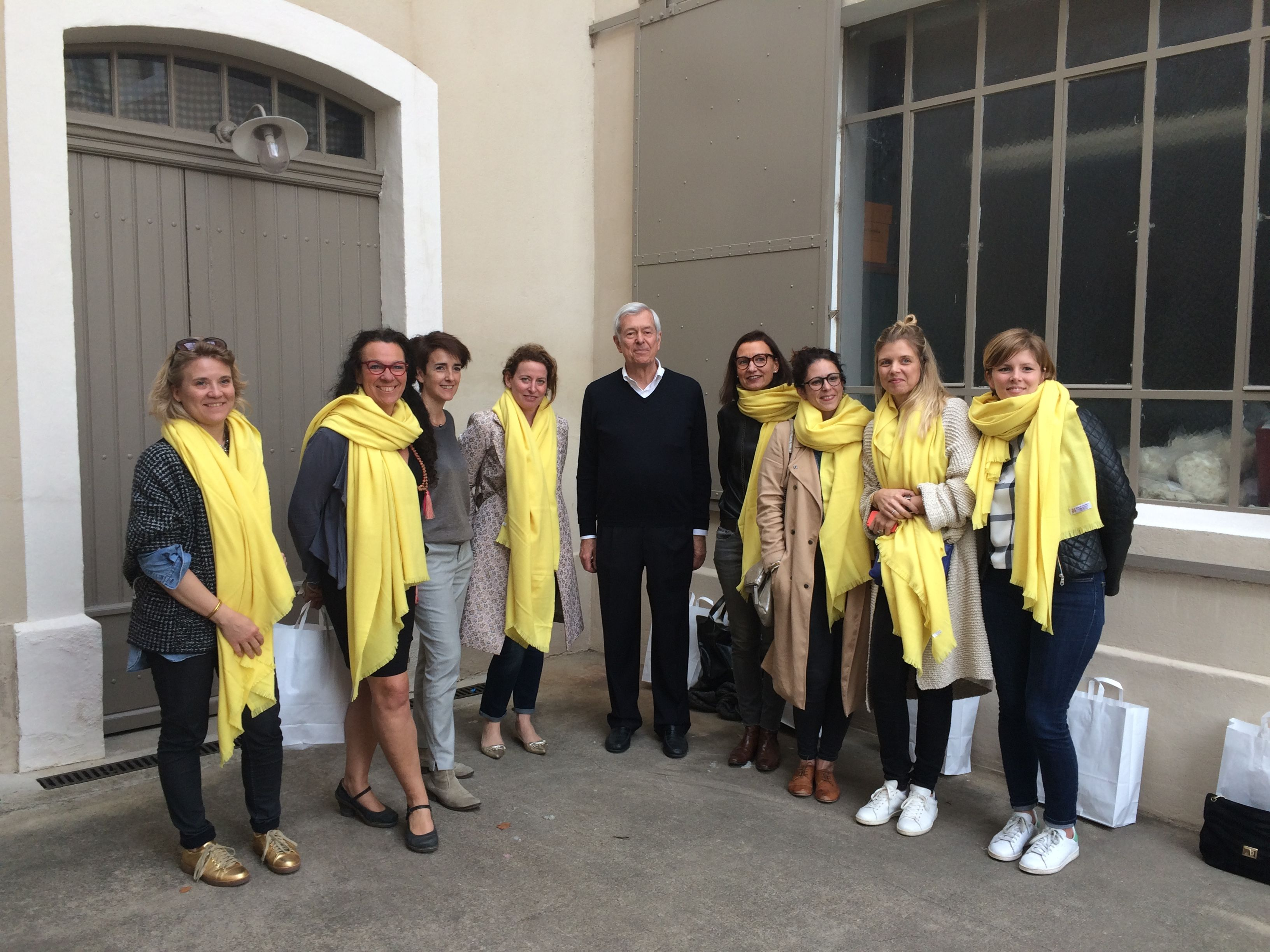 Visite de la Manufacture Brun de Vian-Tiran par les blogueuses de la Joyeuse  Clique. f0ebabdadf9