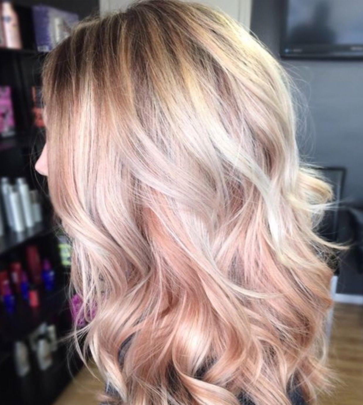 Pin by Kelley Bock on Hair | Dyed hair, Gold hair, Blonde hair