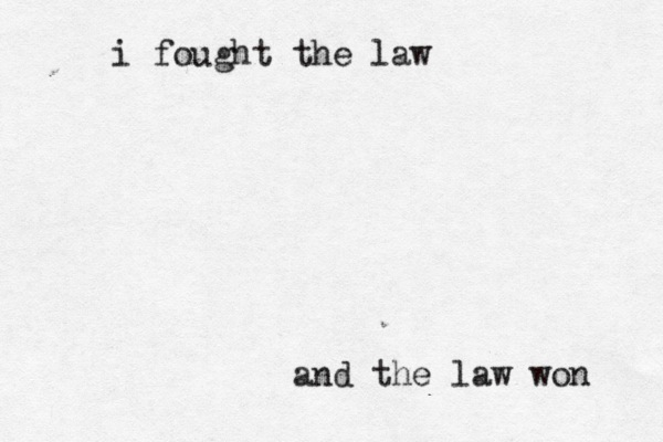 Rule 32 I Fought The Law The Clash The Clash Rule 32 Fight