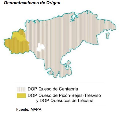En Cantabria Los únicos Transformados Agroindustriales Con Protección De Calidad Específica Son Los Quesos Destaca La Dop Queso De Cantabria Co Pincode Art