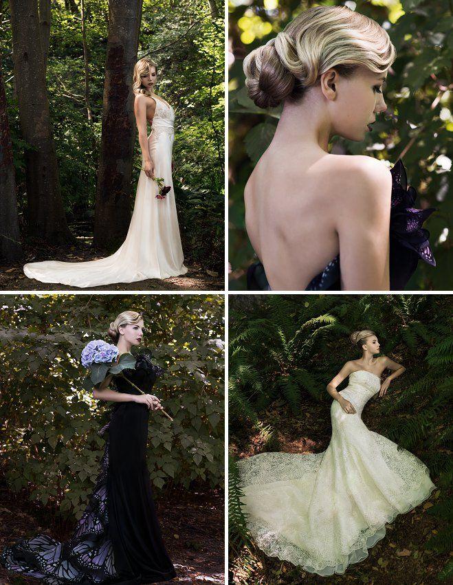 Bridal Style: Natural Beauty | SEVEN Salon | Luly Yang | KM Hair and Makeup | Lisa S Town Photography | Seattle Bride Mag | Bohemian Bride | Bohemian Bridal ...