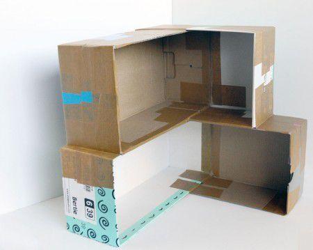 Como Hacer Una Casa De Munecas De Carton Todo Manualidades Casa De Munecas De Carton Como Hacer Casas Casa De Munecas
