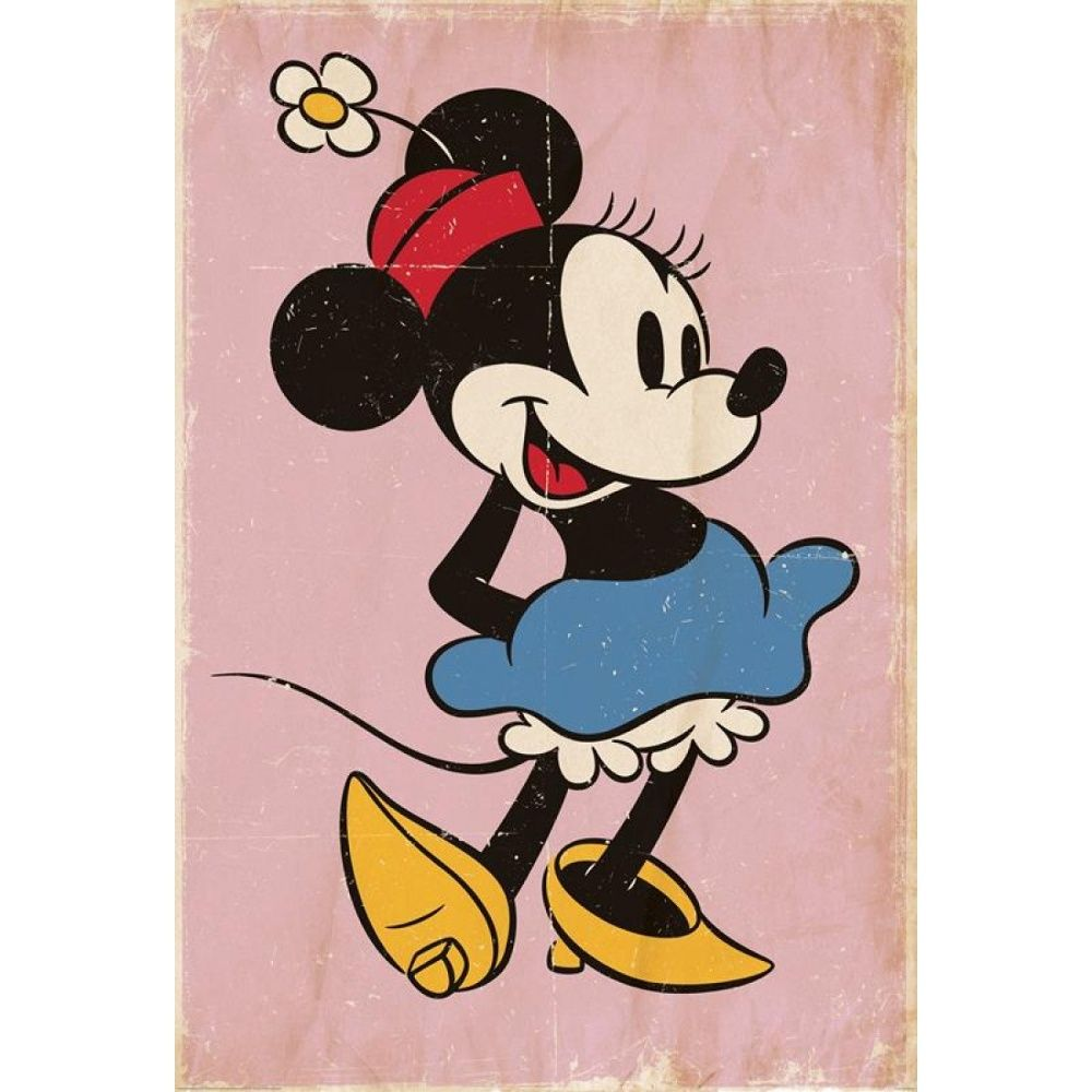 1 Wall 1 Wall Disney Minnie Mouse Retro Wallpaper Mural 158
