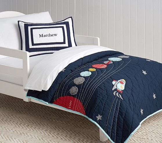 Eric Space Toddler Bedding Pottery Barn Kids 400