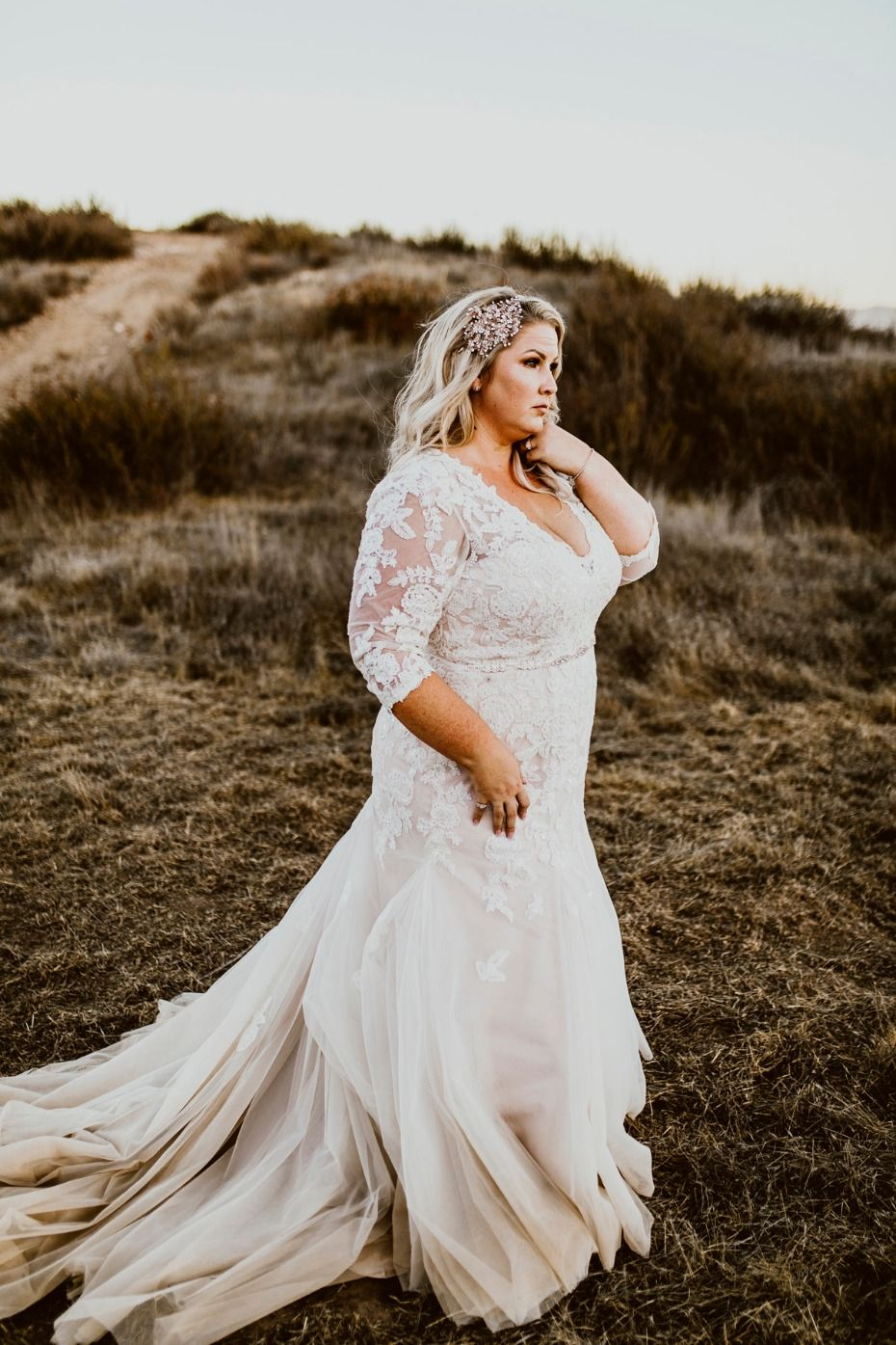 These Curvy Brides Rocked the Aisle In Plus