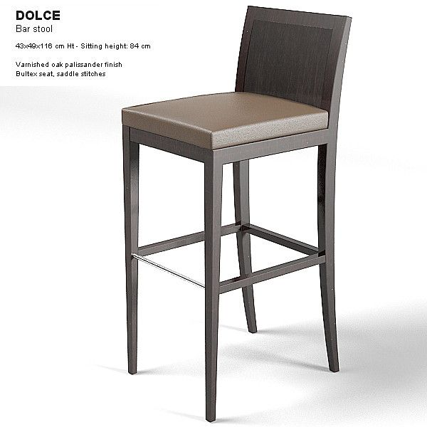 Modenature Dolce Barstool Modern Contemporary Bar Stool Chair