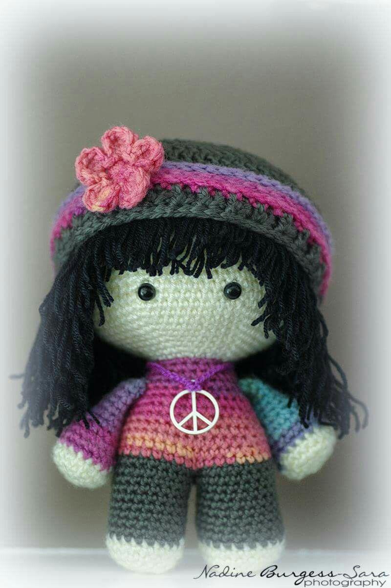 Big Head Baby Doll | crochet toys | Pinterest | Puppe, Puppen und Häkeln