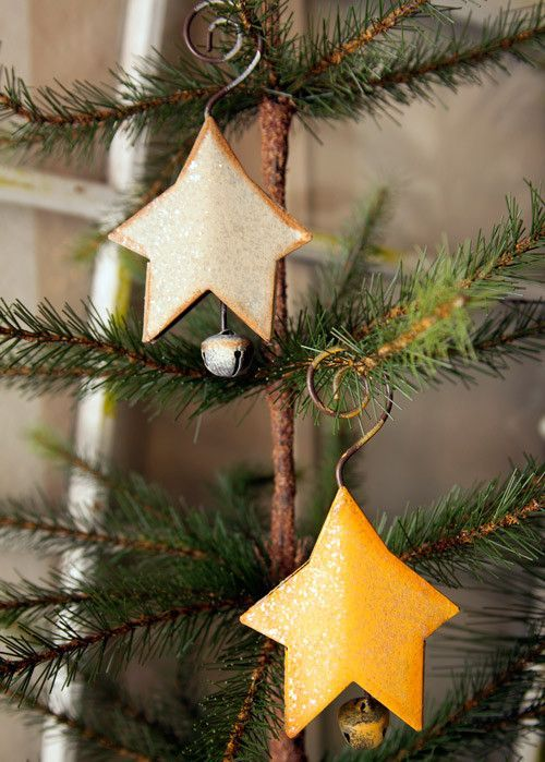 Star Bell Ornaments (Set of 2)