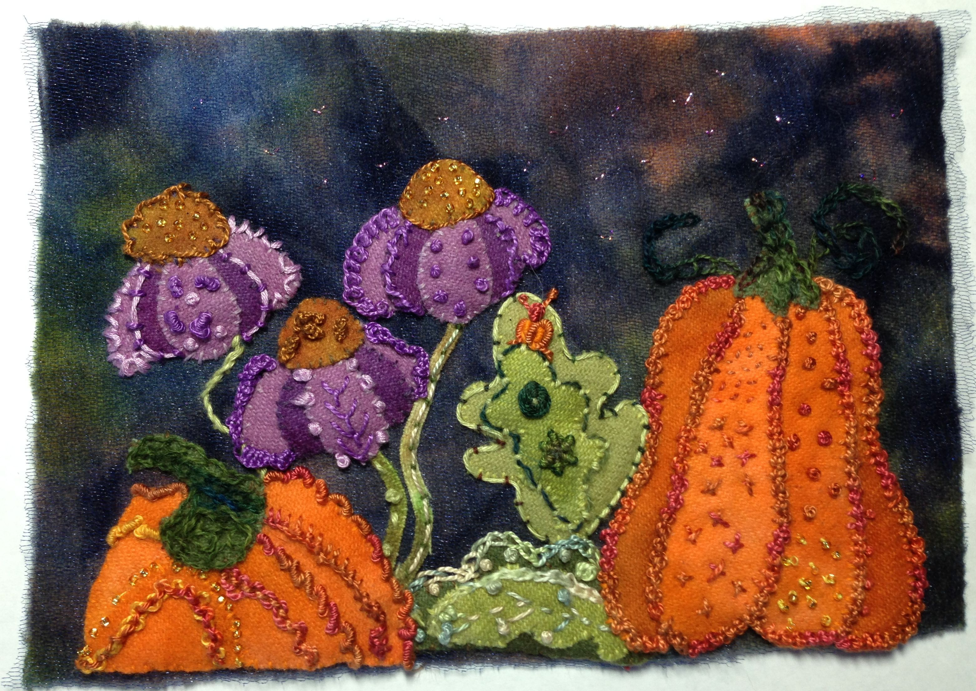 Wool Applique' – a new art for me!
