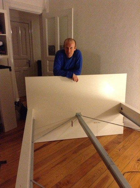 Assembly Of The Pax Malm Bed Malm Bed Frame Ikea Malm Bed