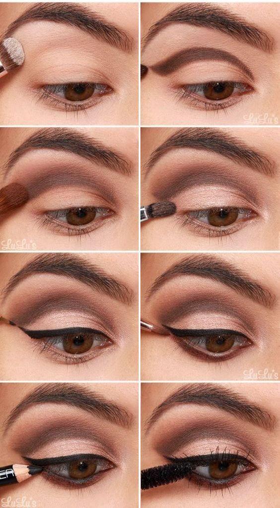 Макияжи карих глаз 12