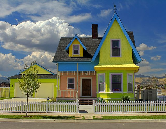 Carl Ellie S Place Ideal Home House Styles Exterior Paint