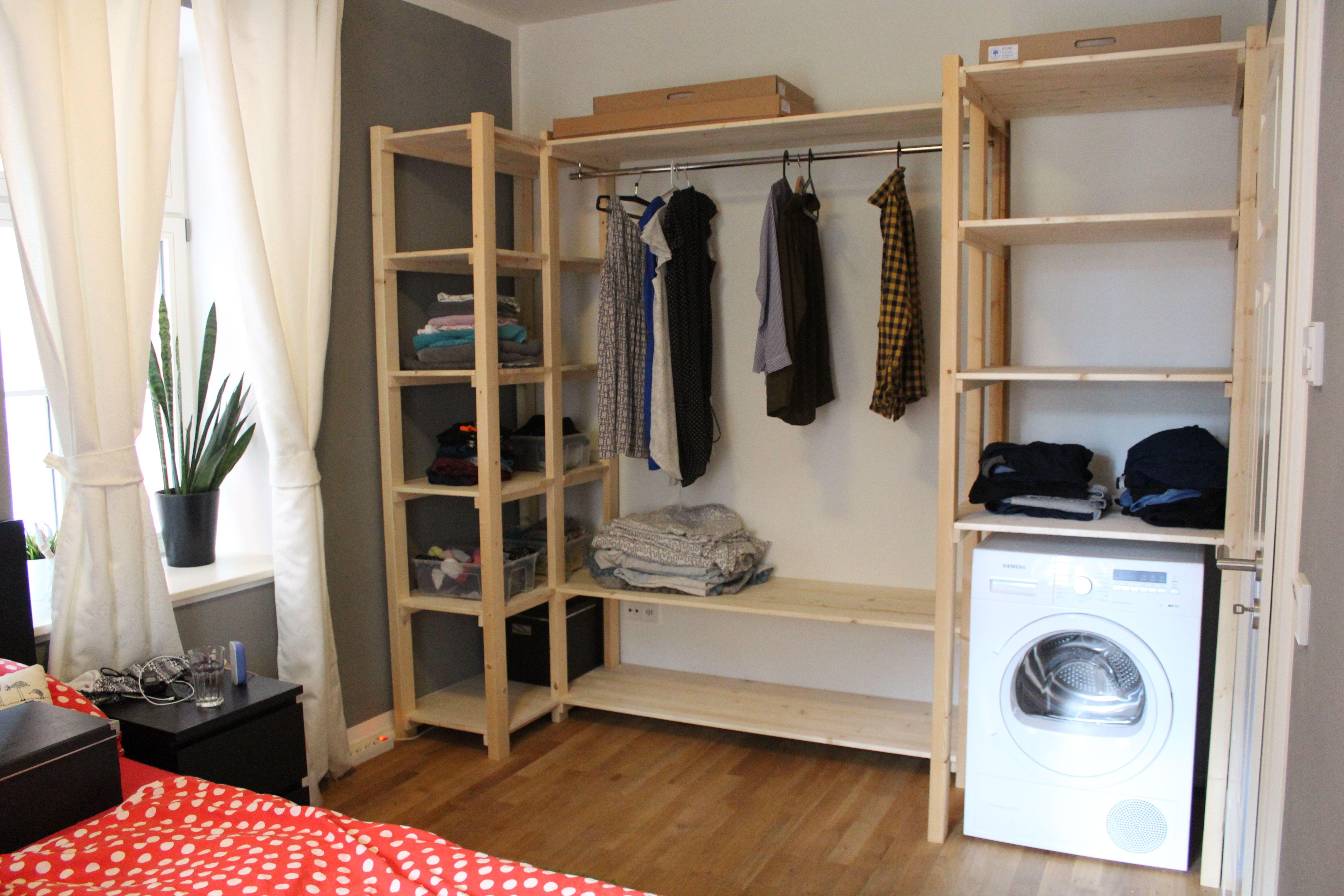 Offener Kleiderschrank - ganz einfach und günstig! Wir haben uns ...