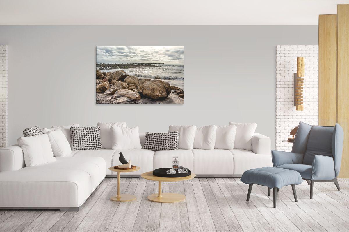 Ocean Beach | Pinterest | Living room wall art, Beach wall art and ...