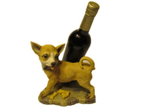 Jbj Chihuahua Dog Wine Bottle Holder By