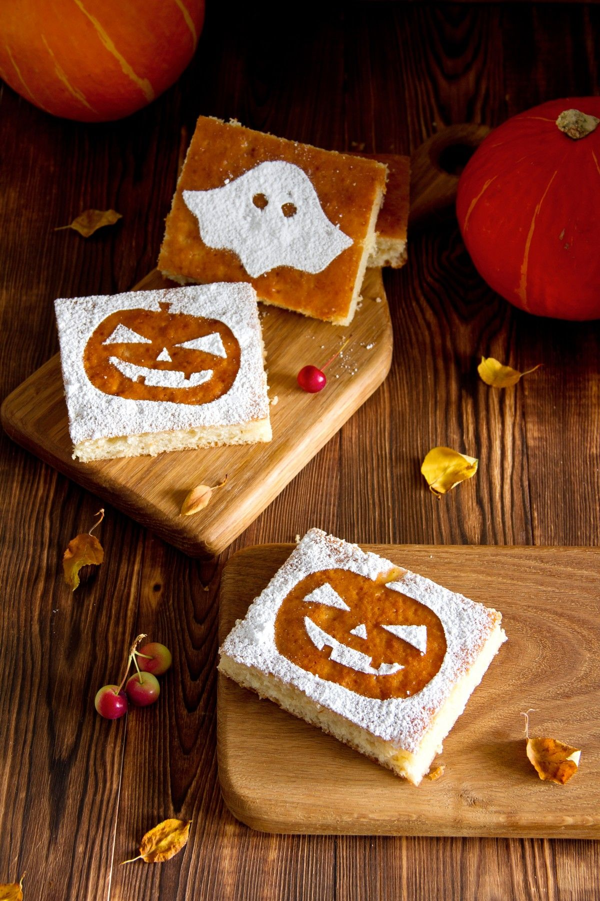 Tasty Halloween Crafts Using Stencils For Cookie Decorating