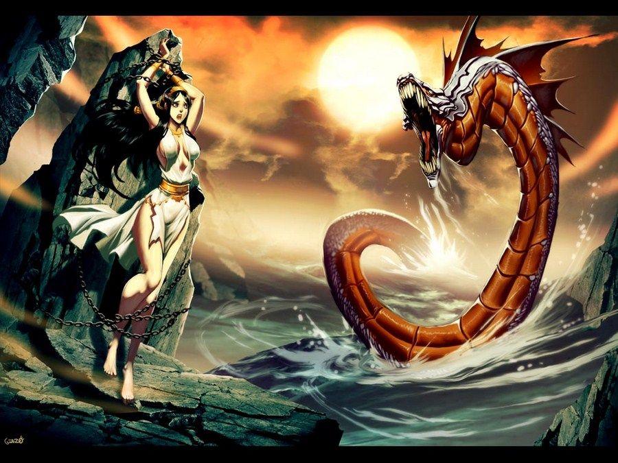 Image Dessins Mythologie Grecque Mythologie Grecque Monstre Marin Mythologie