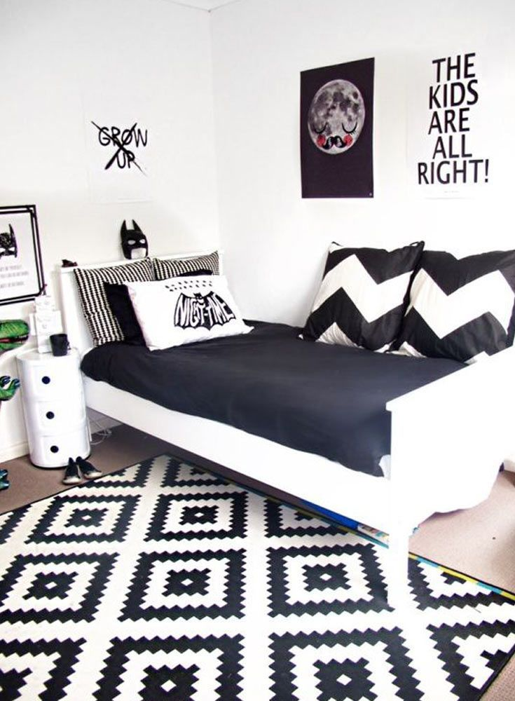 Monochrome Youngsters Room: Get The Look   The Solely Woman Within The  Home. Discover More By Checking Out The Image