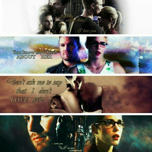 Olicity banners from tumblr