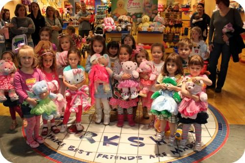 """7499bc3d610 It s a """"Beary Special"""" Build-A-Bear Birthday Party!"""