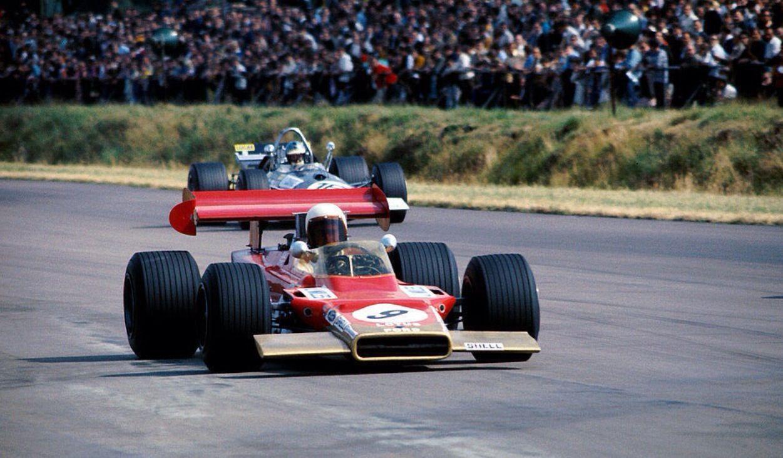 John Miles, Lotus 63 Ford, British GP 1969 (unattributed