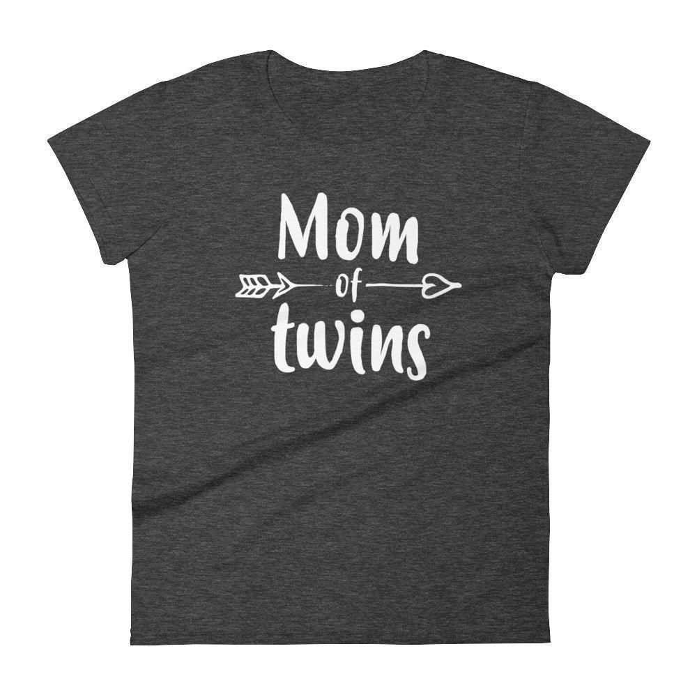 Women's Mom of Twins t-shirt - Gift for mother of twins